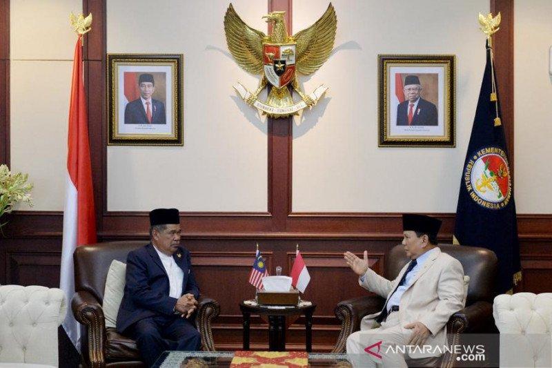 Prabowo terima kunjungan Menhan Malaysia