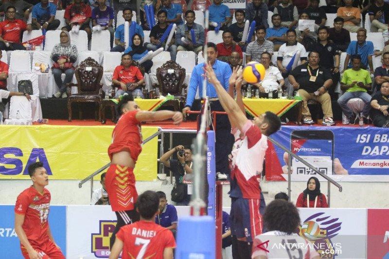 Samator kalahkan Jakarta Garuda pada laga pembuka Proliga 2020