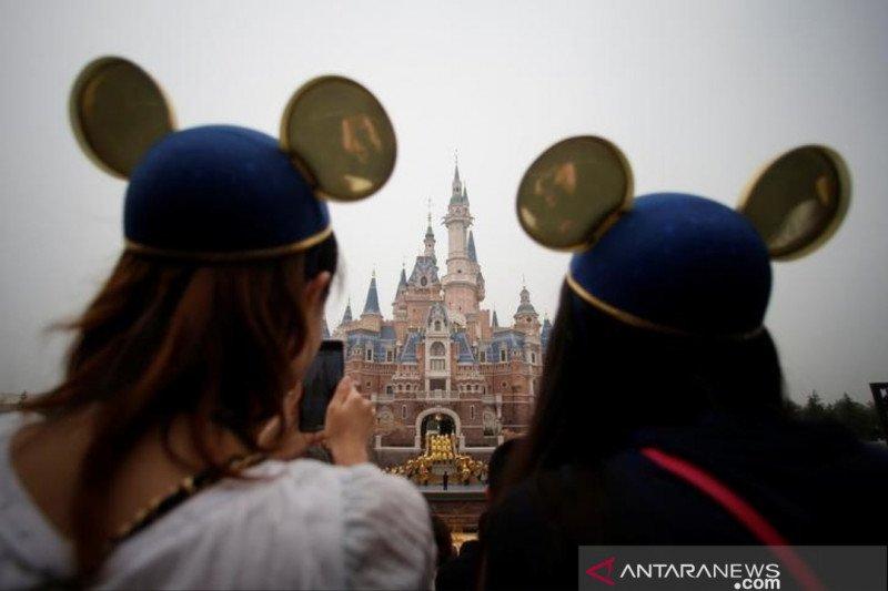 Mulai Senin Disneyland Shanghai dibuka hingga tiket masuk ludes terjual