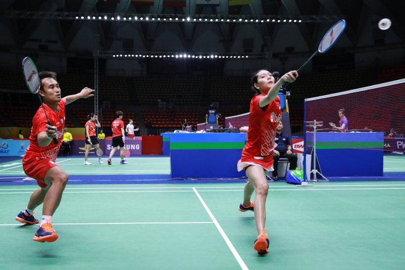 "Menangi ""perang saudara"", pasangan Hafiz/Gloria ke semifinal Thailand Masters"