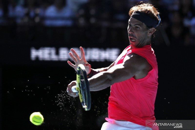 Nadal melaju ke putaran keempat Australia Open