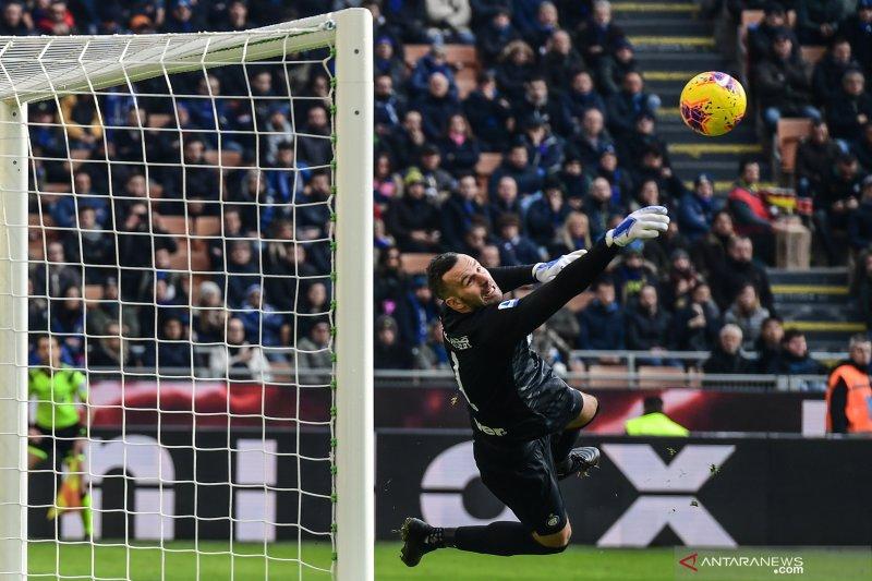 Kapten Inter Handanovic sesalkan timnya kembali dapatkan hasil imbang
