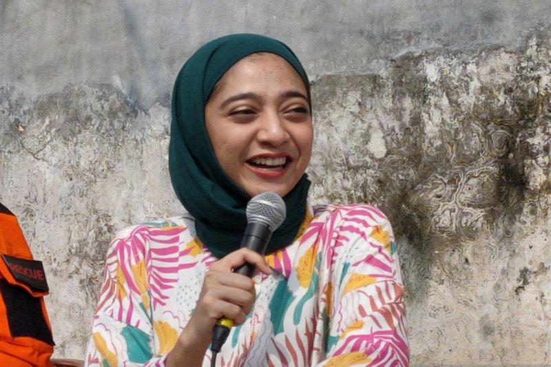 Tantangan Chiki Fawzi jadi sukarelawan bencana