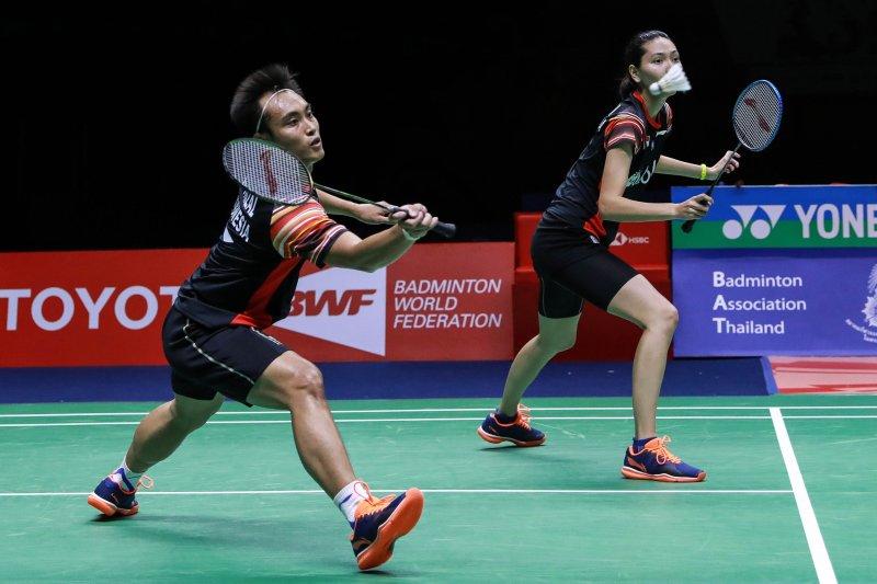 Hafiz/Gloria tantang Ellis/Smith di final Thailand Master