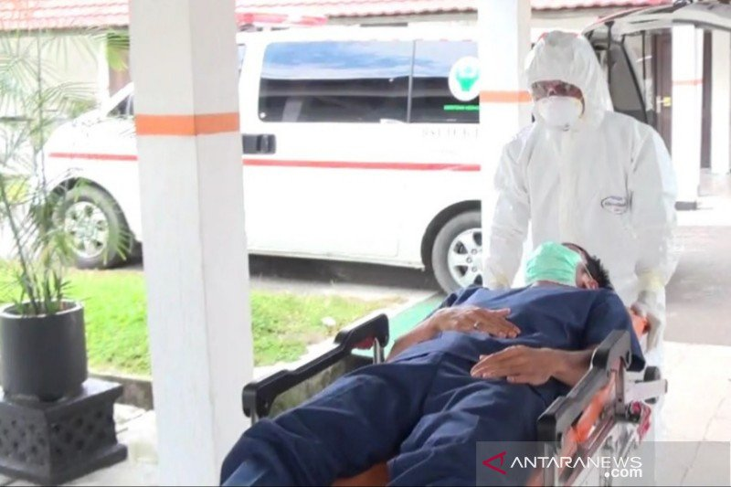 Pengisolasian pasien 'suspect' virus corona wajib dilakukan, RSUD Doris Sylvanus gelar simulasi