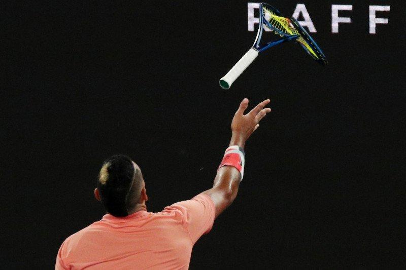 Kyrgios imbau petenis untuk tidak egois mundur dari US Open