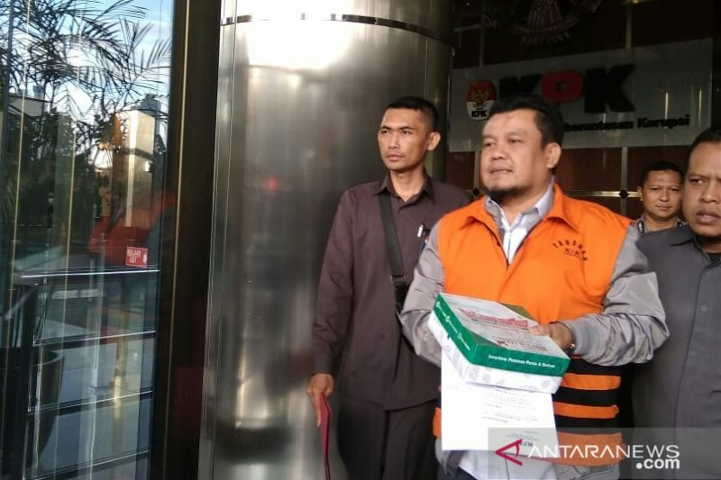 KPK tahan dua tersangka korupsi ruang terbuka hijau Pemkot Bandung