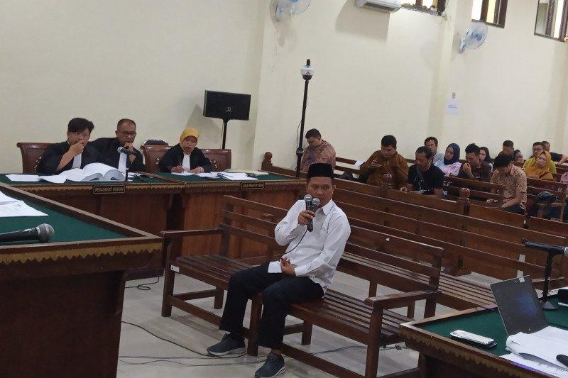 Terdakwa kasus suap Lampung Utara akui berikan uang Rp350 juta kepada Kadis PUPR