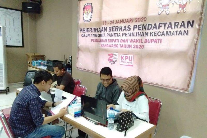 591 warga Karawang daftar jadi calon anggota PPK pilkada