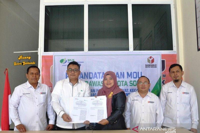 Pastikan jaminan keselamatan kerja, Bawaslu Solok gandeng BP-Jamsotek