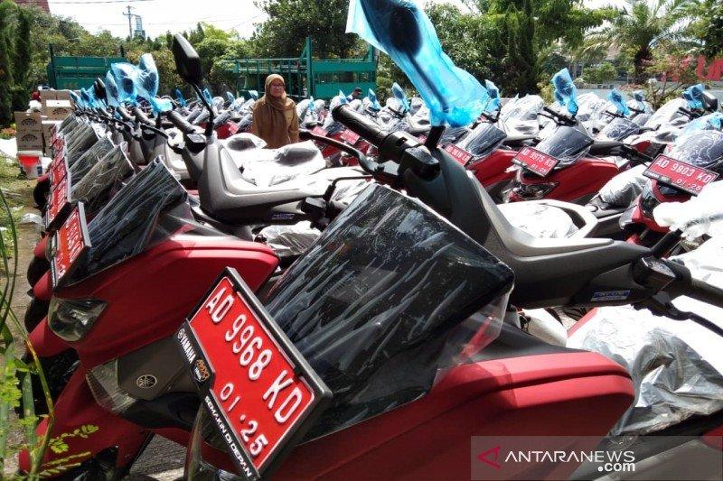 Sepeda motor plat merah di Desa Sekaroh diembat maling