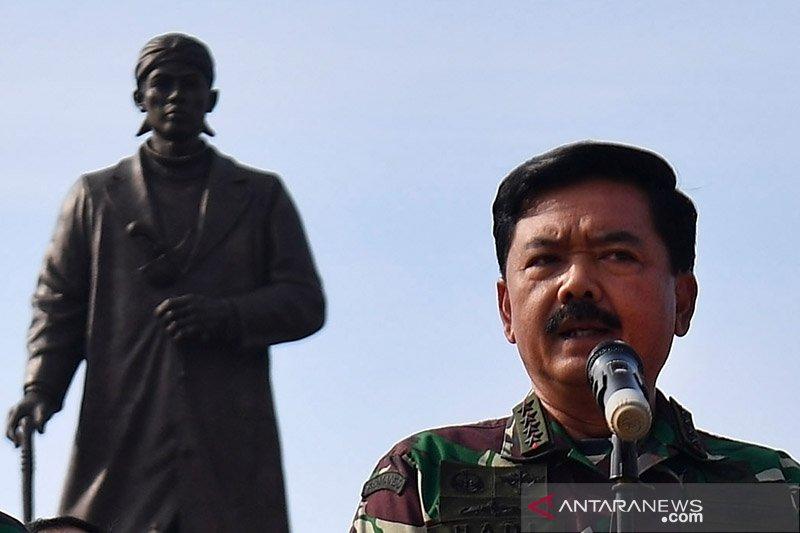 Mutasi 78 perwira tinggi TNI, I Nyoman Gede jabat Pangkogabwilhan I