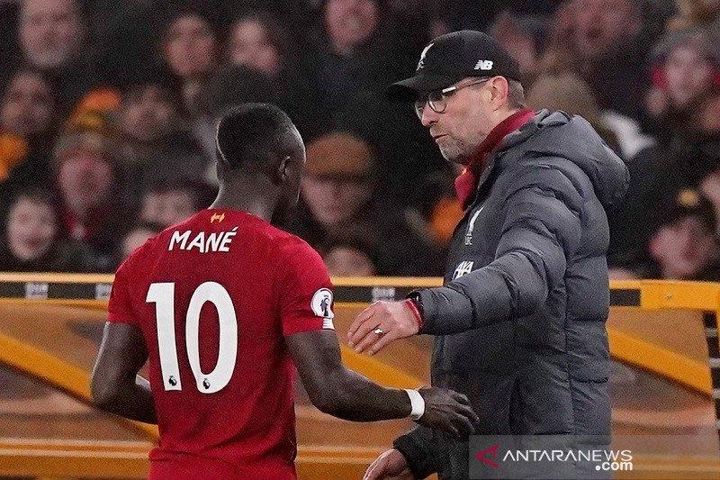Mane absen saat Liverpool jalani laga tunda lawan West Ham