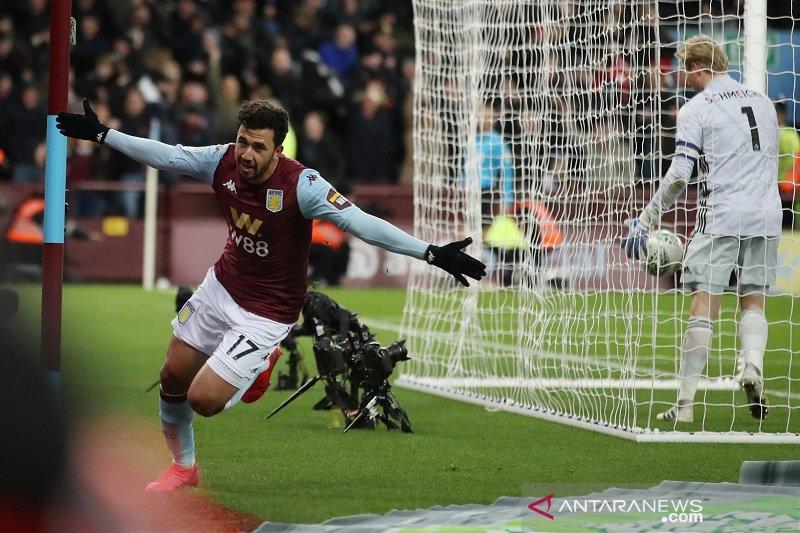 Dramatis,Aston Villa kalahkan Leicester ke final Piala Liga