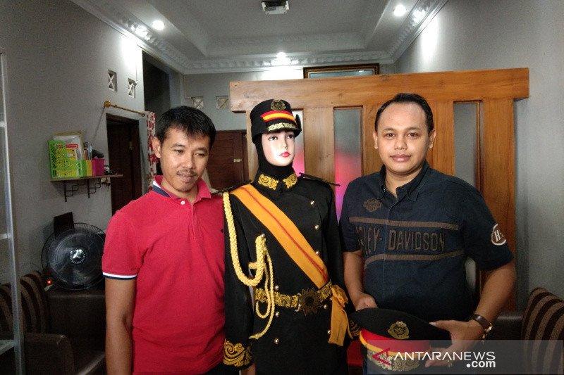 Kostum Keraton Agung Sejagat Purworejo diproduksi di wilayah Bantul