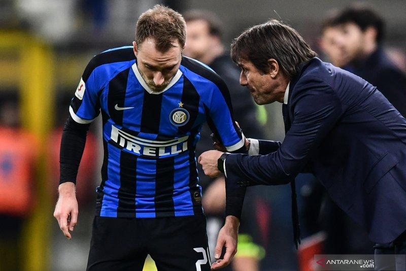 Sejumlah pemain absen, Antonio Conte terpaksa turunkan trio penyerangnya
