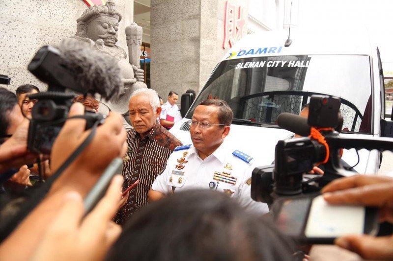 Kemenhub resmikan angkutan antarmoda Bandara YIA-KSPN Borobudur
