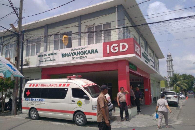 Seorang polisi di Medan lompat dari jalan layang
