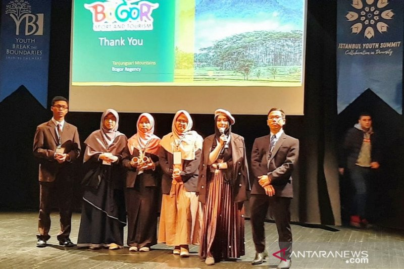 Pemuda Bogor promosikan potensi pariwisata Kabupaten Bogor di Turki