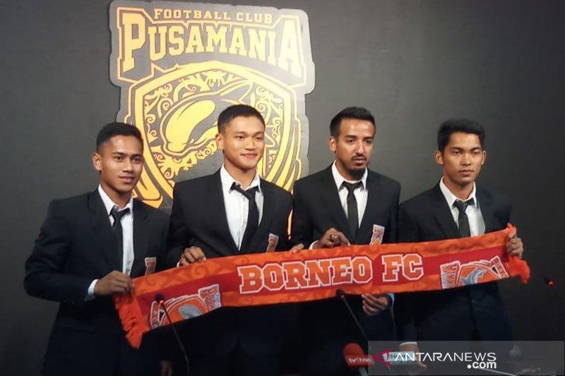 Pemain Borneo FC sisihkan sebagian gaji untuk bantu penanganan COVID-19