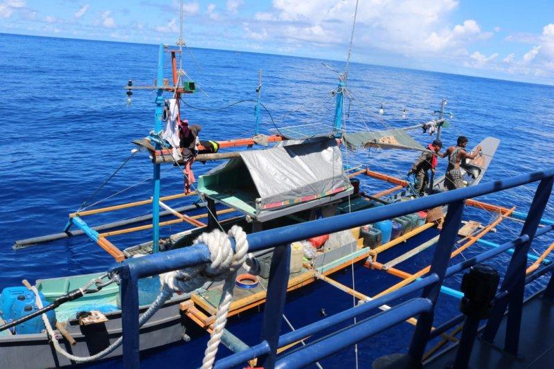KKP ringkus kapal asing ilegal berbendera Filipina