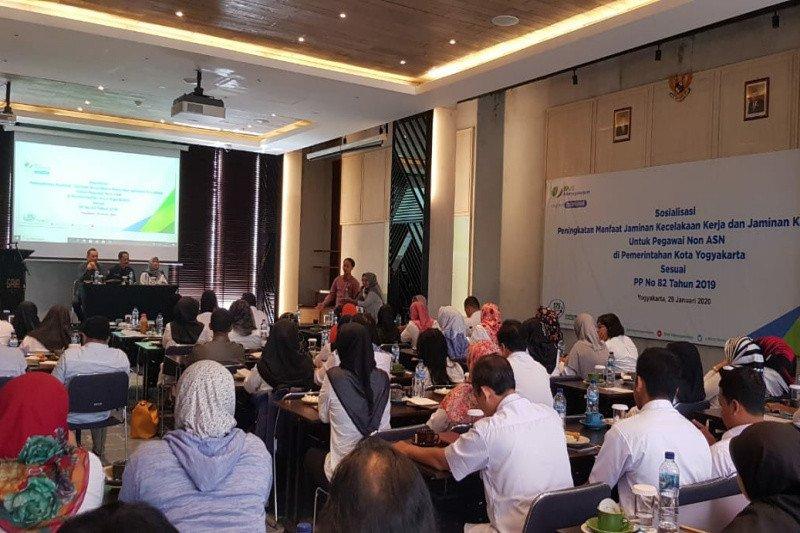 BPJamsotek Yogyakarta menjaring kepesertaan sektor informal