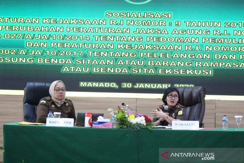 Kejati Sulawes Utara Gelar  Sosialisasi Pemulihan Aset