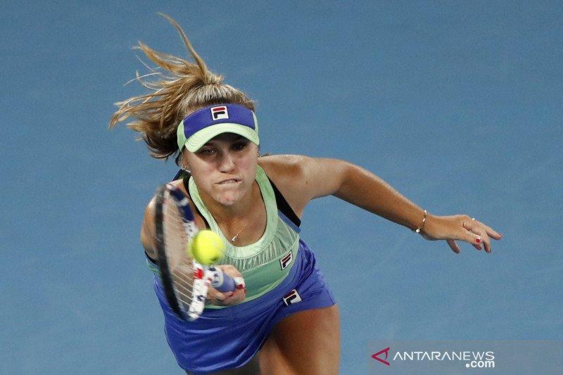 Sofia frustasi dengan kekalahan di Qatar Open