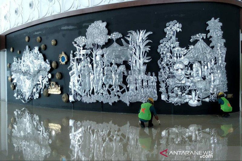 AP I: Bandara Internasional Yogyakarta dihiasi karya seni berbasis budaya lokal