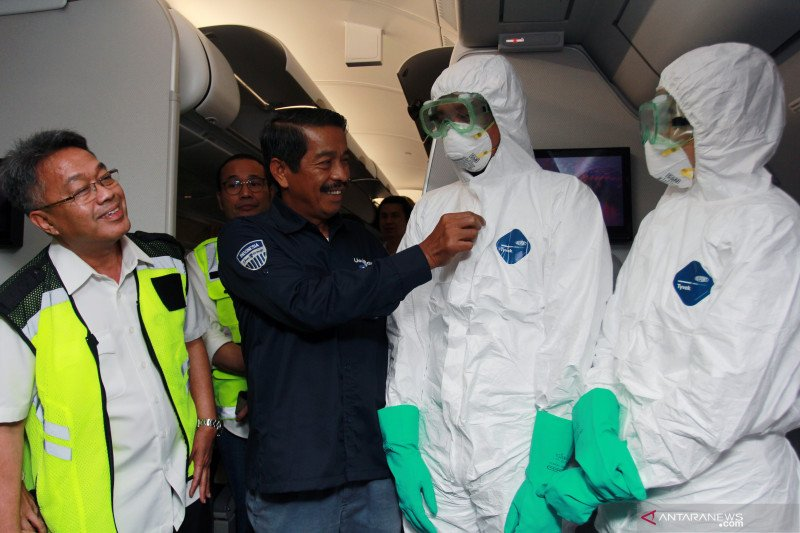 Kemenhub pastikan pilot meninggal diduga corona tidak terbang ke Wuhan