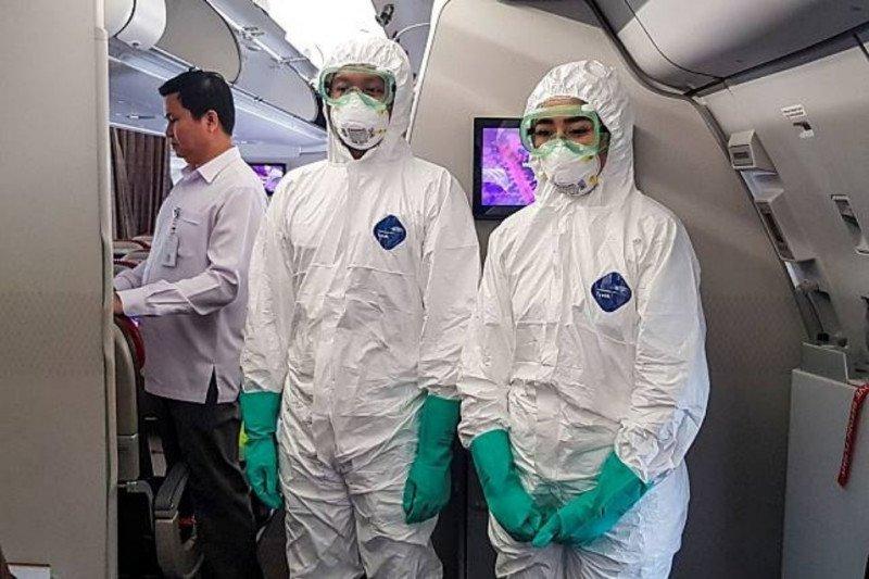 Ini pakaian pramugari batik saat evakuasi di Wuhan
