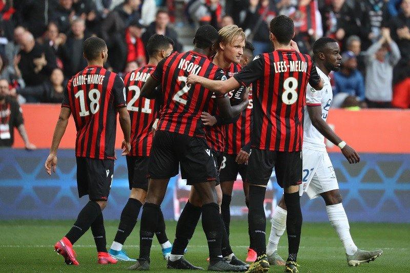 Lyon dikalahkan Nice 1-2