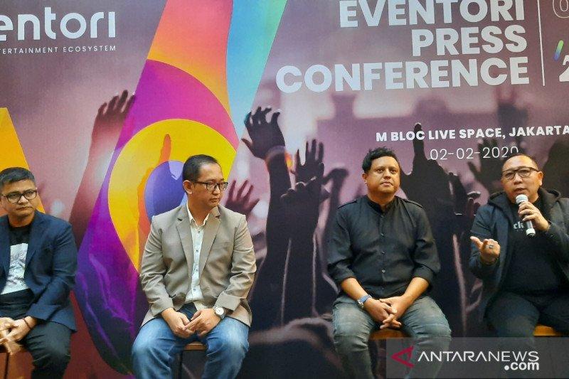 """Eventori, 'platform"""" ekosistem dunia  hiburan diluncurkan"""