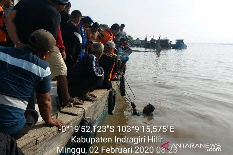 Satu orang korban kapal tenggelam di Inhil belum ditemukan