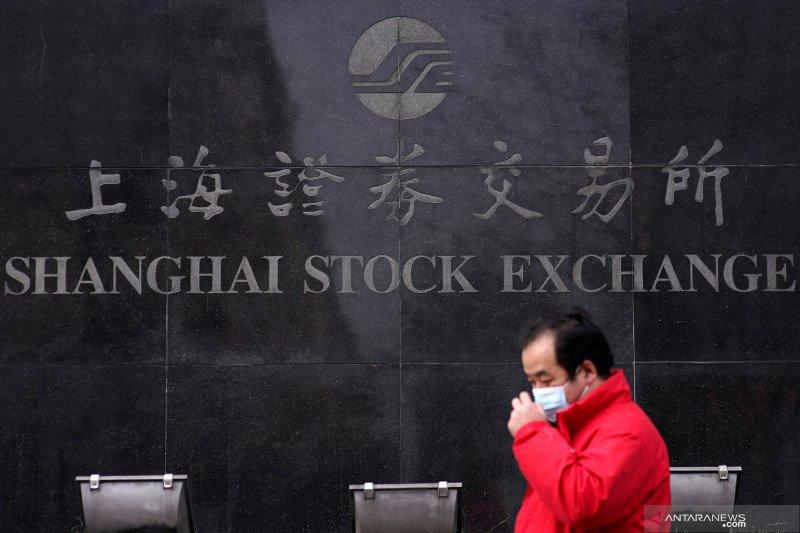 Dampak wabah virus corona berkurang, pasar saham China dibuka lebih tinggi