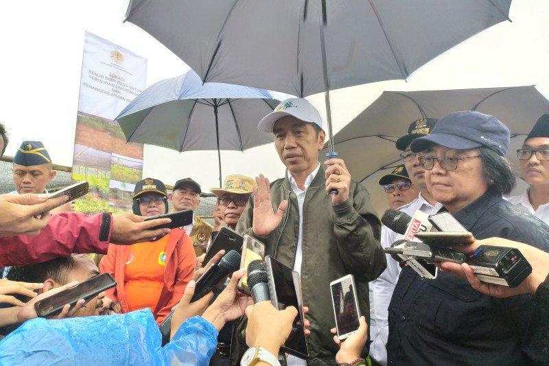 Rakornas BNPB, Presiden berterima kasih pada BNPB