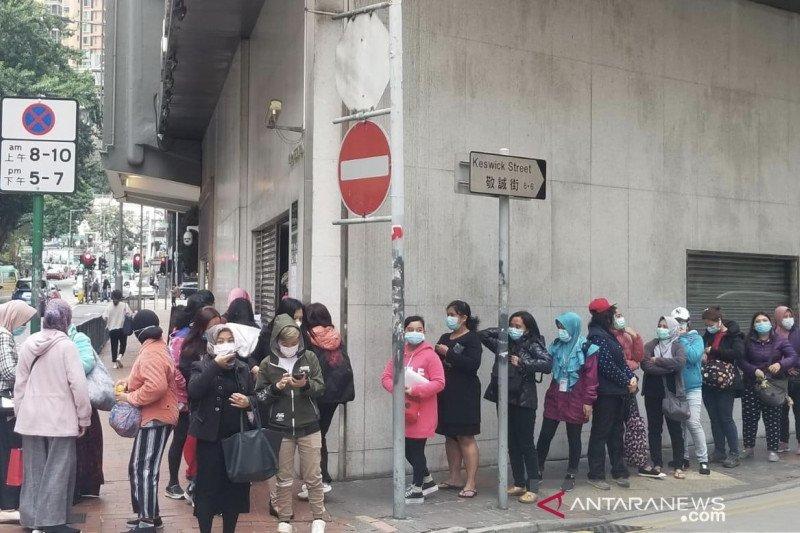 Gara-gara masker, seorang WNI dihukum di Hong Kong