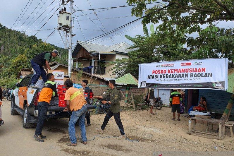 ACT buka posko kemanusiaan bantu korban kebakaran