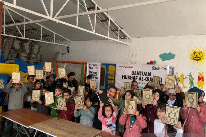 Hidup berat keluarga Suriah dengan 16 anak di pengungsian