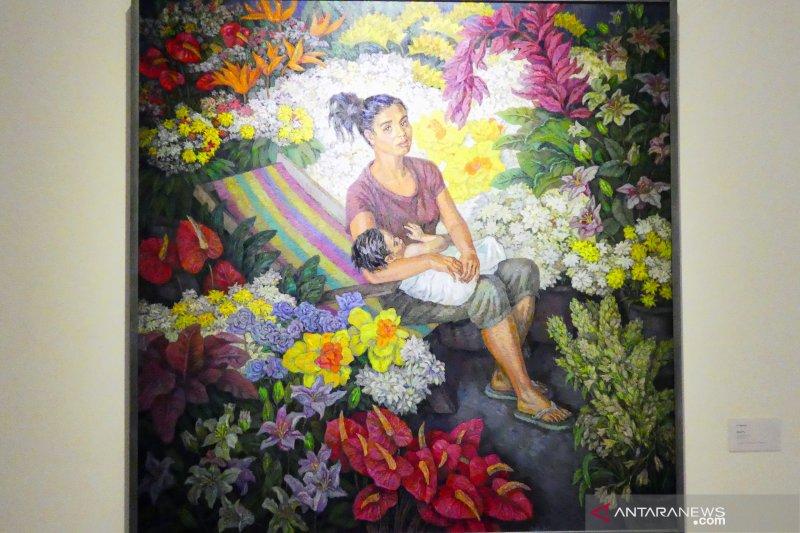 Warna-warni Indonesia di mata seniman  Rusia