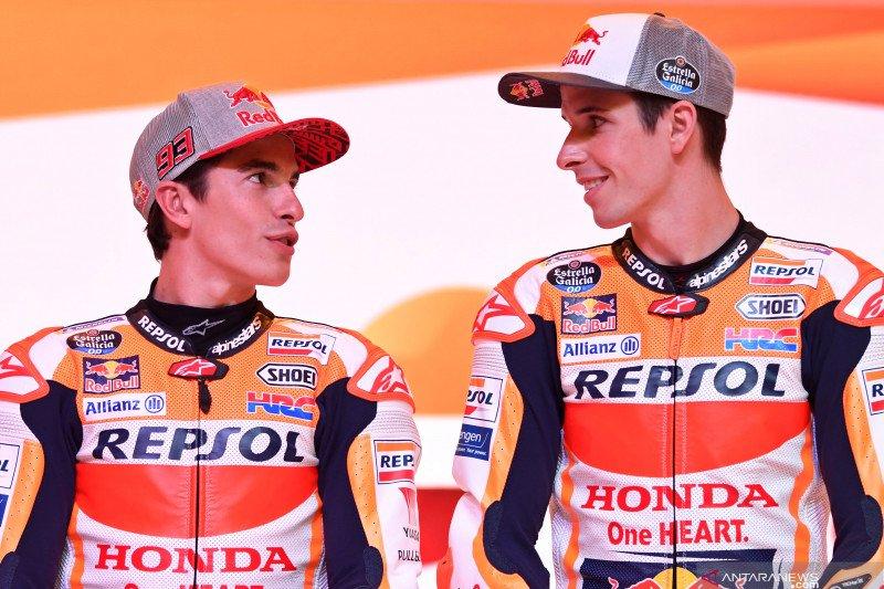 Aktivitas Marquez bersaudara untuk fans MotoGP di kala pandemi