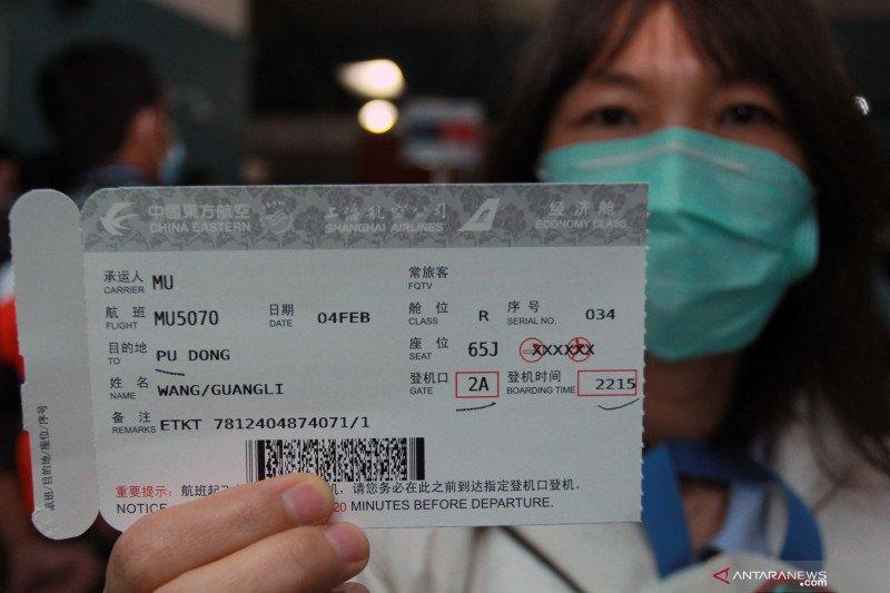 Bandara Soekarno-Hatta hentikan penerbangan ke China