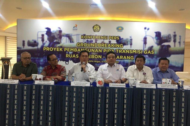 BPH Migas: Pembangunan pipa gas Cirebon-Semarang mulai 7 Februari