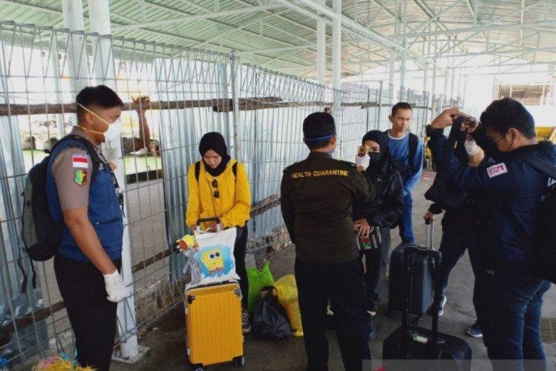 Lima mahasiswa Nunukan dari China pulang via Malaysia
