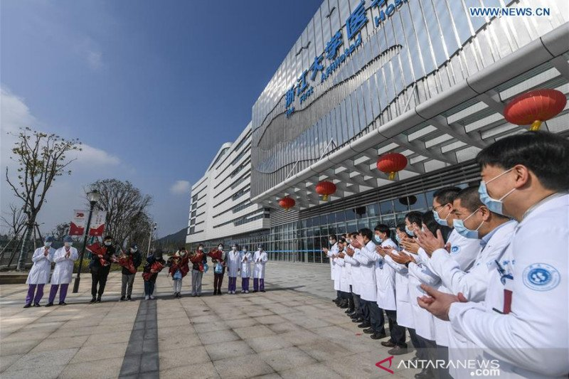 Sebanyak 10.844 orang di China sembuh dari virus corona