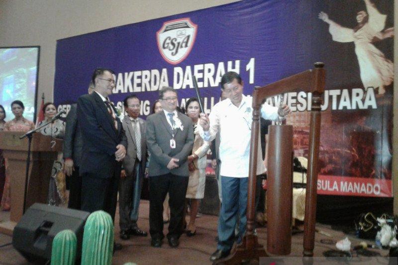 Wali Kota Manado Buka Rakerda Daerah I GSJA Sulut