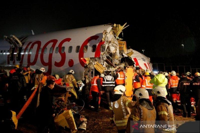 Kecelakaan  pesawat Pegasus Airlines di Turki