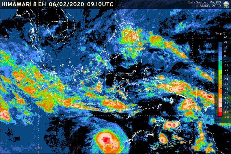 Peringatan dini hujan di Jakarta