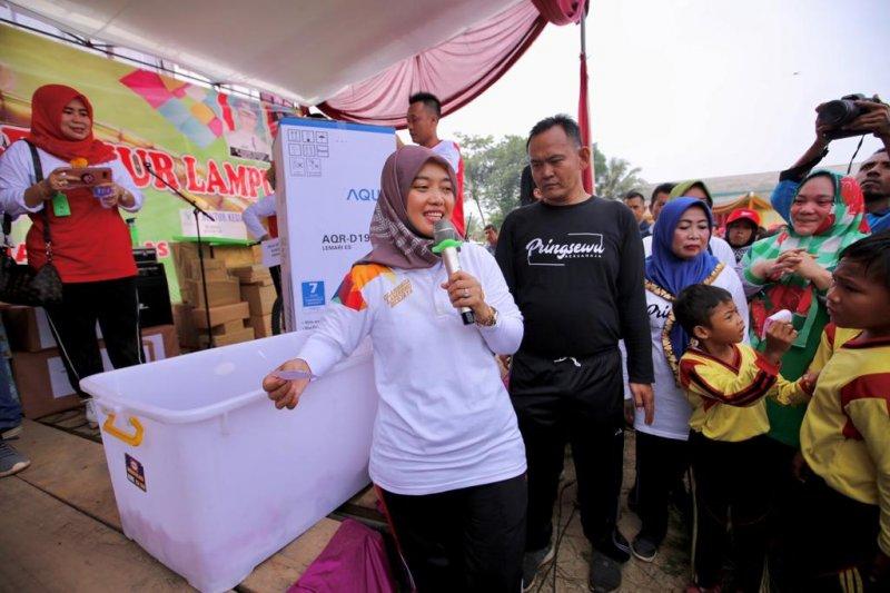 Wagub dan Wabup deklarasi kabupaten layak anak di Pringsewu