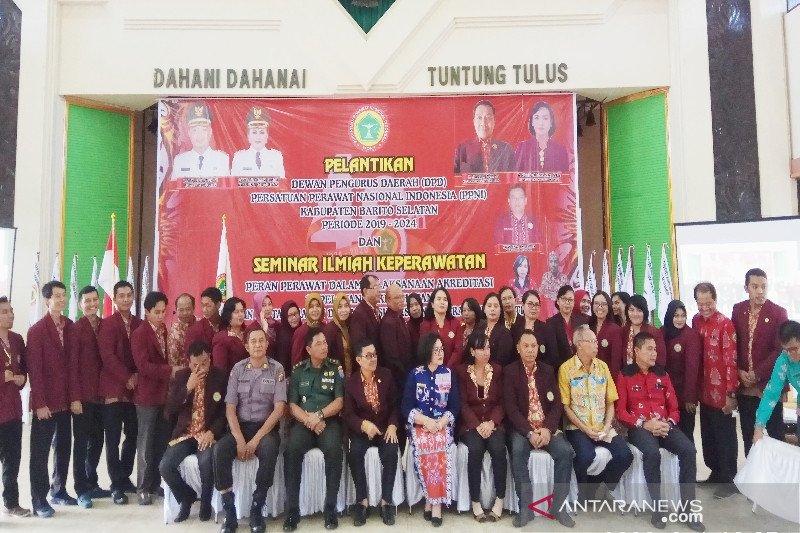 Perawat berkontribusi besar terhadap kinerja pelayanan kesehatan Barito Selatan